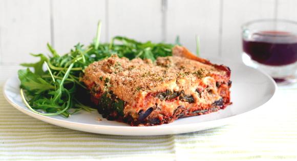 Plantplate recipes roasted eggplant lasagna forumfinder Images